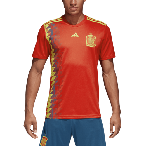 17cc2babe23 ... adidas 2018 Spain Home Replica Jersey ...