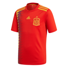 adidas 2018 Spain Home Replica Jersey Youth