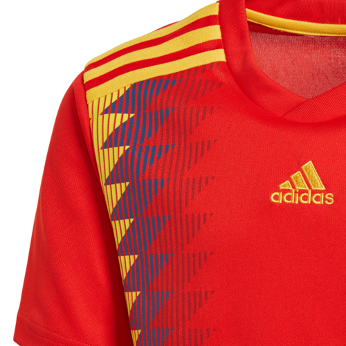 a823b4a0cf7 ... adidas 2018 Spain Home Replica Jersey Youth ...