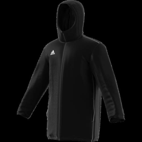 d15d9abc adidas Core 18 Stadium Jacket - Black | SOCCERX