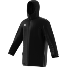 adidas Core 18 Stadium Jacket - Black