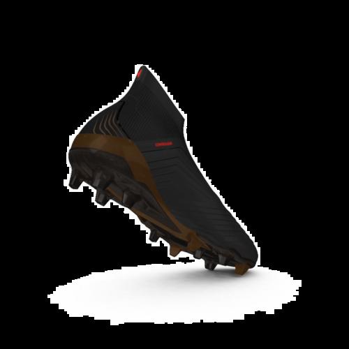Predator 18+ Firm Ground Boots - Core Black/FTWR White/Solar Red
