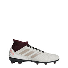 adidas Predator 18.3 Firm Ground Boots women's - TALC S16/VAPOUR GREY MET.F16/MAROON