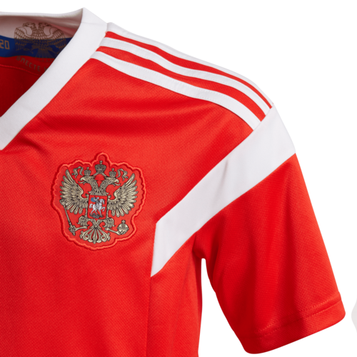 8648ccb1 ... adidas 2018 Russia Home Replica Jersey Youth ...