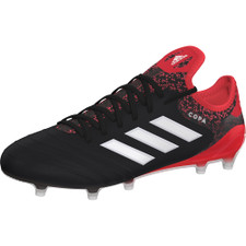 adidas Copa 18.1 Firm Ground Boots - BLACK/WHITE/REAL CORAL