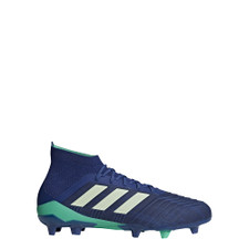 adidas Predator 18.1 Firm Ground Boots - UNITY INK/AERO GREEN/HI-RES BLUE