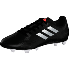 adidas Conquisto II Firm Ground Boot Jr Black/White/Red