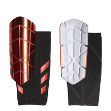 adidas Ghost Pro Shin Guard - Coral/White