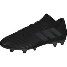 adidas Nemeziz 17.3 Firm Ground Boots - CORE BLACK/CORE BLACK/HI-RES GREEN