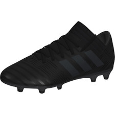 adidas Nemeziz 17.3 Firm Ground Boots - CORE BLACK/CORE BLACK/HI-RES GREEN