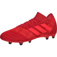adidas Nemeziz 17.2 Firm Ground Boots - REAL CORAL/RED ZEST/CORE BLACK