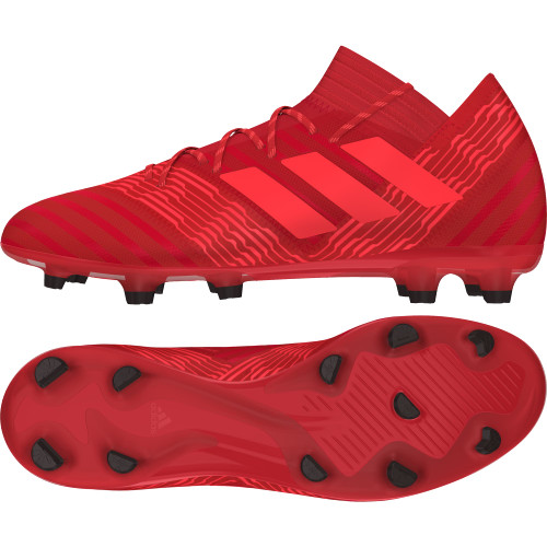 adidas Nemeziz 17.2 Firm Ground Boots - REAL CORAL/RED ZEST/CORE BLACK