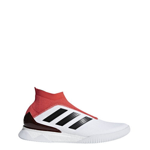 adidas Predator Tango 18+ Trainers - WHITE/CORE BLACK/REAL CORAL