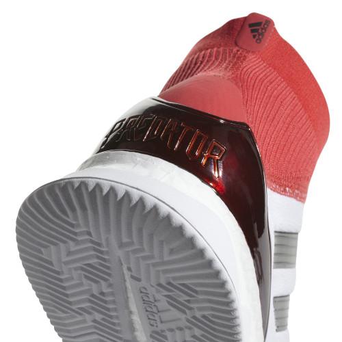 ... adidas Predator Tango 18+ Trainers - WHITE CORE BLACK REAL CORAL ... d5cb9b508