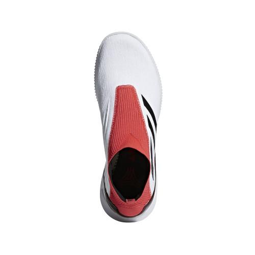 0b46faa6ab19 adidas Predator Tango 18+ Trainers - WHITE/CORE BLACK/REAL CORAL ...