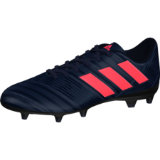 adidas Nemeziz 17.4 Firm Ground Boot - TRACE BLUE F17/RED ZEST S13/CORE BLACK