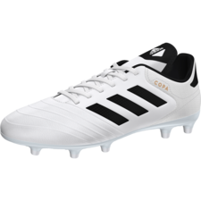 adidas Copa 18.3 Firm Ground Boot - WHITE/CORE BLACK/TACTILE GOLD MET