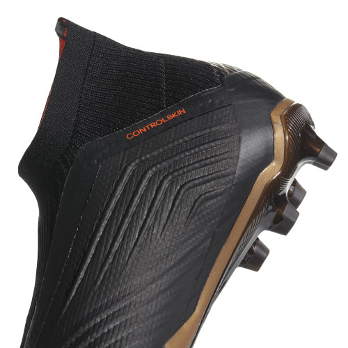 Predator 18+ Firm Ground Boot - Core Black/FTWR White/Solar Red