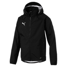 Puma Liga Training Rain Jacket - Black/White