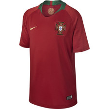 Nike Breathe Portugal 18/19 Stadium Home Jersey Youth