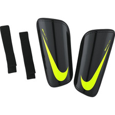 Nike Mercurial Hardshell Football Shin Guards - Black/Volt
