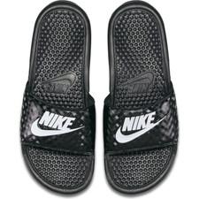 "Nike Women's Benassi ""Just Do It."" Sandal - Black"