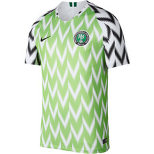 Nike Breathe Nigeria 18/19 Stadium Home Jersey