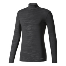 adidas TechFit ClimaWarm Mock Long Sleeve - Black