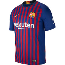 Nike Breathe FC Barcelona 18/19 Stadium Home Jersey Jr