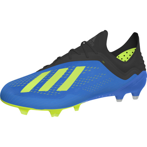 3155e336d915 adidas X 18.1 Firm Ground Boot - Football Blue Solar Yellow Core ...
