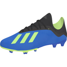 adidas X 18.3 Firm Ground Boot - Football Blue/Solar Yellow/Core Black