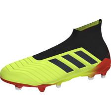 adidas Predator 18+ Firm Ground - Solar Yellow/Core Black/Solar Red