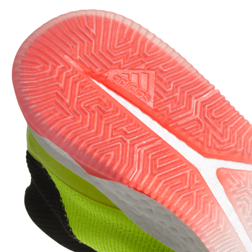 new concept cc793 75dcd ... adidas Predator Tango 18.1 Trainers - Solar YellowCore BlackSolar Red  ...