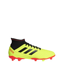 adidas Predator 18.3 Firm Ground Boot - Solar Yellow/Core Black/Solar Red