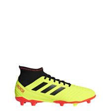 adidas Predator 18.3 Firm Ground Boot - Solar Yellow/Core Black/Solar Red