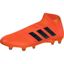 adidas NEMEZIZ 18+ FIRM GROUND BOOTS - ZEST/CBLACK/SOLRED