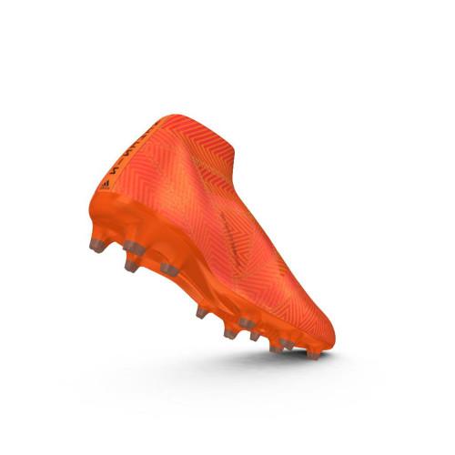 49e45c6dc99e adidas NEMEZIZ 18+ FIRM GROUND BOOTS - ZEST CBLACK SOLRED