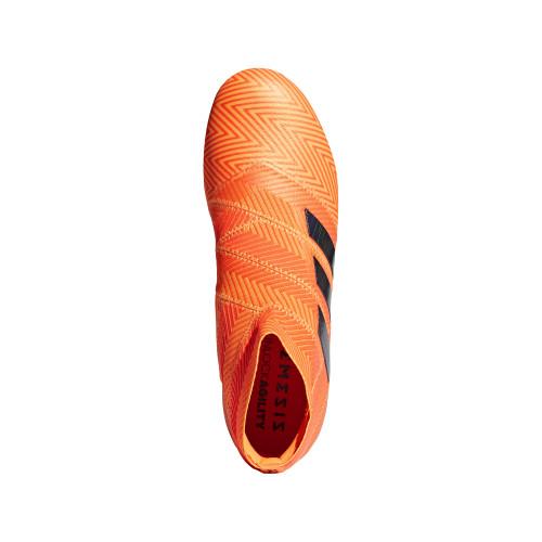 adidas NEMEZIZ 18+ FIRM GROUND BOOTS - ZEST/CBLACK/SOLRED