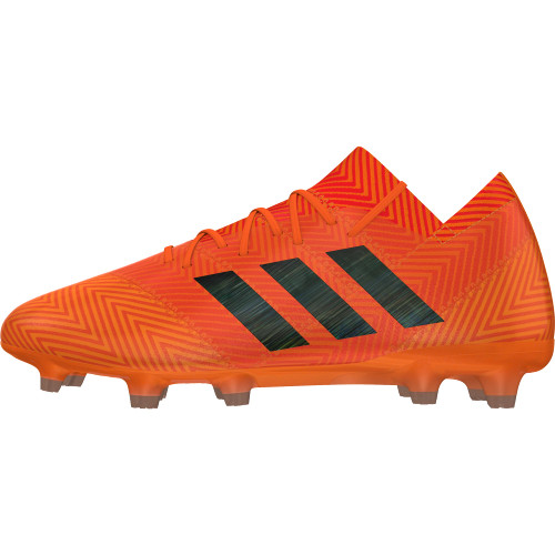 adidas Nemeziz 18.1 Firm Ground Boot - Zest/Core Black/Solar Red