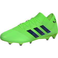 adidas Nemeziz Messi 18.1 Firm Ground Boot - Solar Green/Core Black/Solar Green
