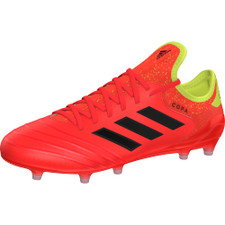 adidas Copa 18.1 Firm Ground Boot - Solar Red/Core Black/Solar Yellow