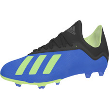 adidas X 18.3 Firm Ground Boot Jr - Football Blue/Solar Yellow/Core Black