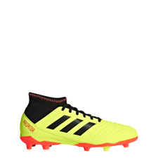 adidas Predator 18.3 Firm Ground Boot Jr - Solar Yellow/Core Black/Solar Red