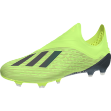 adidas X 18+ Firm Ground Boot - Solar Yellow/Core Black/White