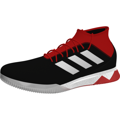adidas Predator Tango 18.1 Indoor Boot - Core Black White Red  a50f86f68