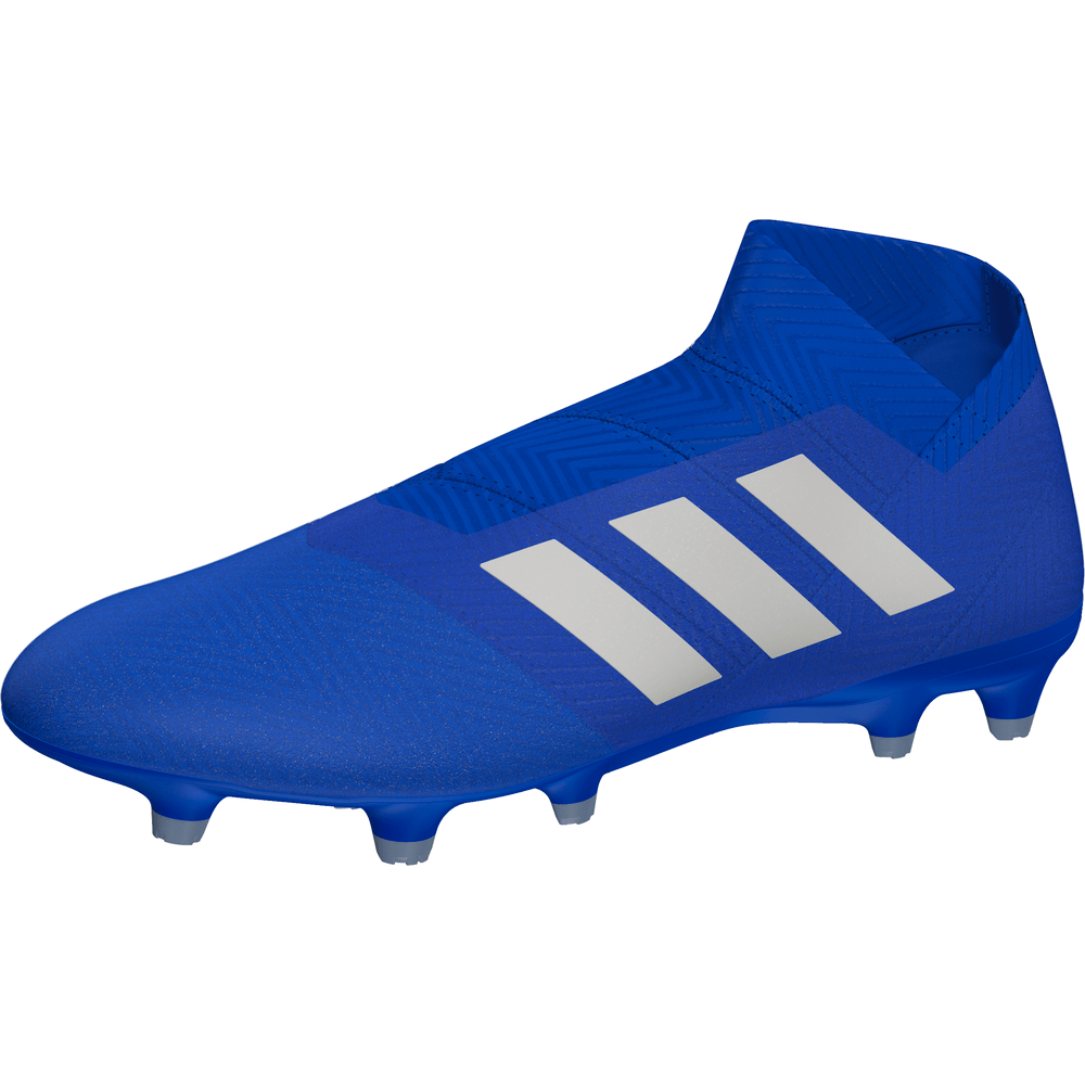 adidas Nemeziz 18+ 18+ Nemeziz Firm Ground Boot Football Bleu Blanc Football 7d88fd
