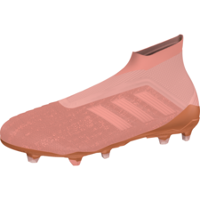adidas Predator 18+ Firm Ground Boot - CLEAR ORANGE F18/CLEAR ORANGE F18/TRACE PINK F17