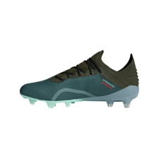 adidas X 18.1 Firm Ground Boots - RAW GREEN F18/NIGHT CARGO F15/CLEAR MINT F18 | SOCCERX