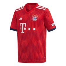 adidas FC Bayern 18/19 Home Youth Jersey