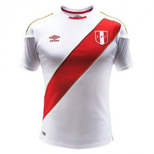 Umbro Peru 2018 Home 18/19 Jersey - White/Red